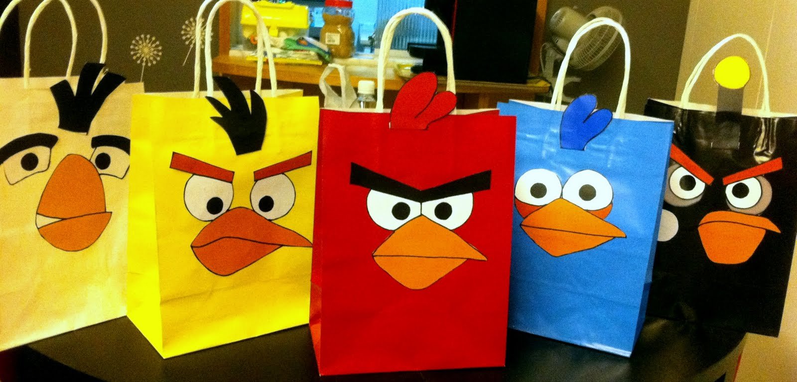 Angry Birds Goodie Bags Party