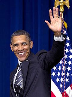 Barack Obama President Of America looking cute