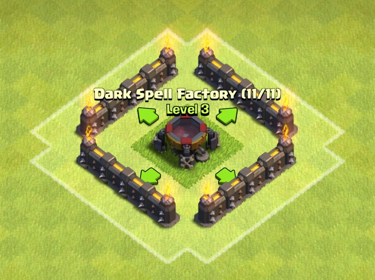 clash of clans spell factory - photo #14