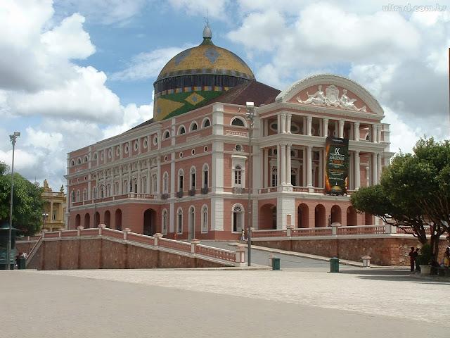 Teatro Amazonas en Manaos, Brasil