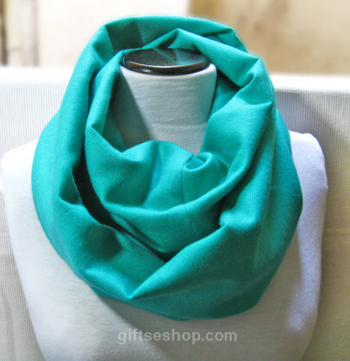 today i have an infinity scarf pattern for you it s a great beginner  Infinity Loop Scarf Sewing Pattern