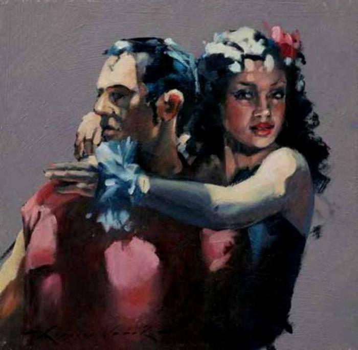 Raymond Leech 1949   British impressionist painter