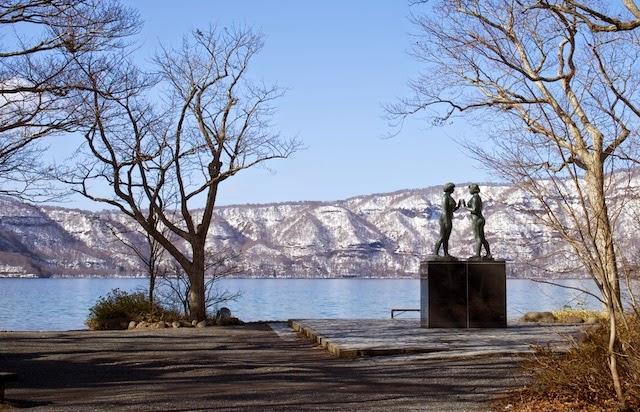 十和田湖 ー 乙女の像