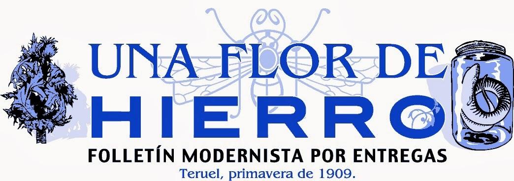 Primeras letras una flor de hierro - Letras de hierro ...