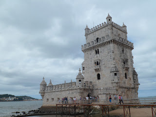 Tower of Belem in Lisbon Portugal