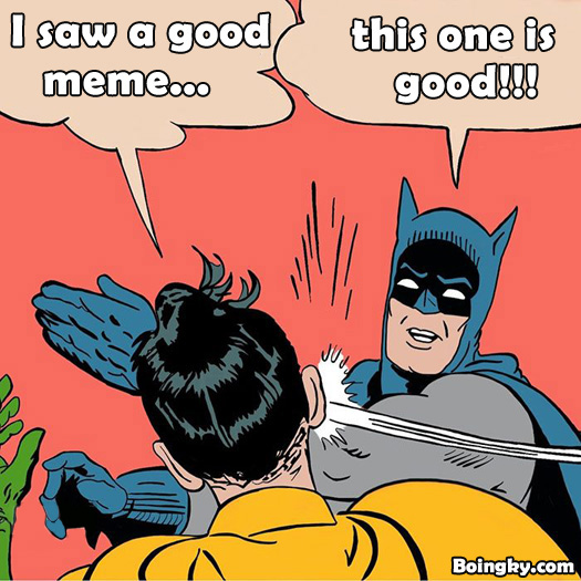 batman and robin meme