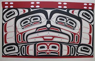 Alvin Child - Haida Chest