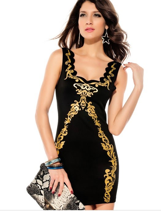 Winter high-end sexy evening bandage Newest lady party bandage dress for Christmas