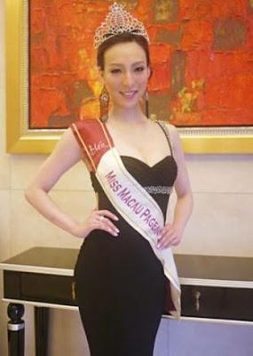 Miss World Macau 2012 Winnie Sin