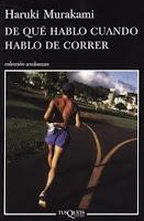 portada de De qué hablo cuando hablo de correr de Haruki Murakami