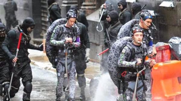 Teenage Mutant Ninja Turtles 2014 behind the scene