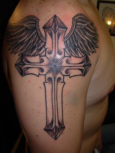 tattoo crosses designs