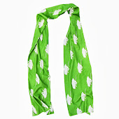 Tanks Green Scarf