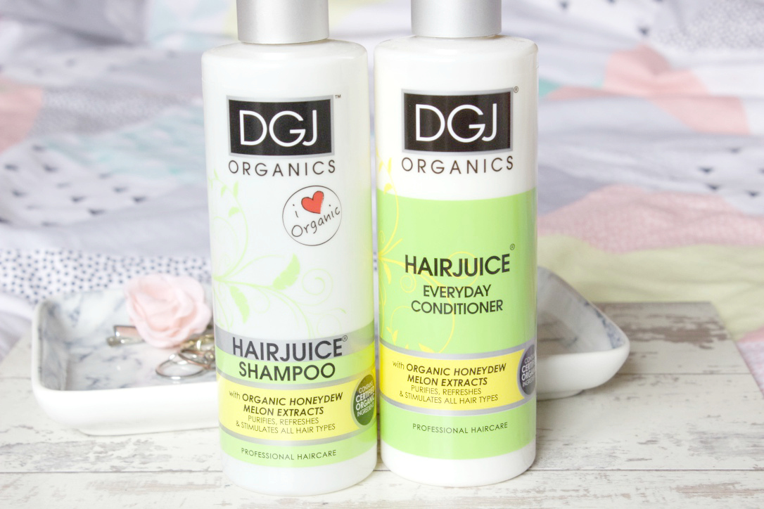 DGJ Organics Hairjuice Shampoo & Conditioner