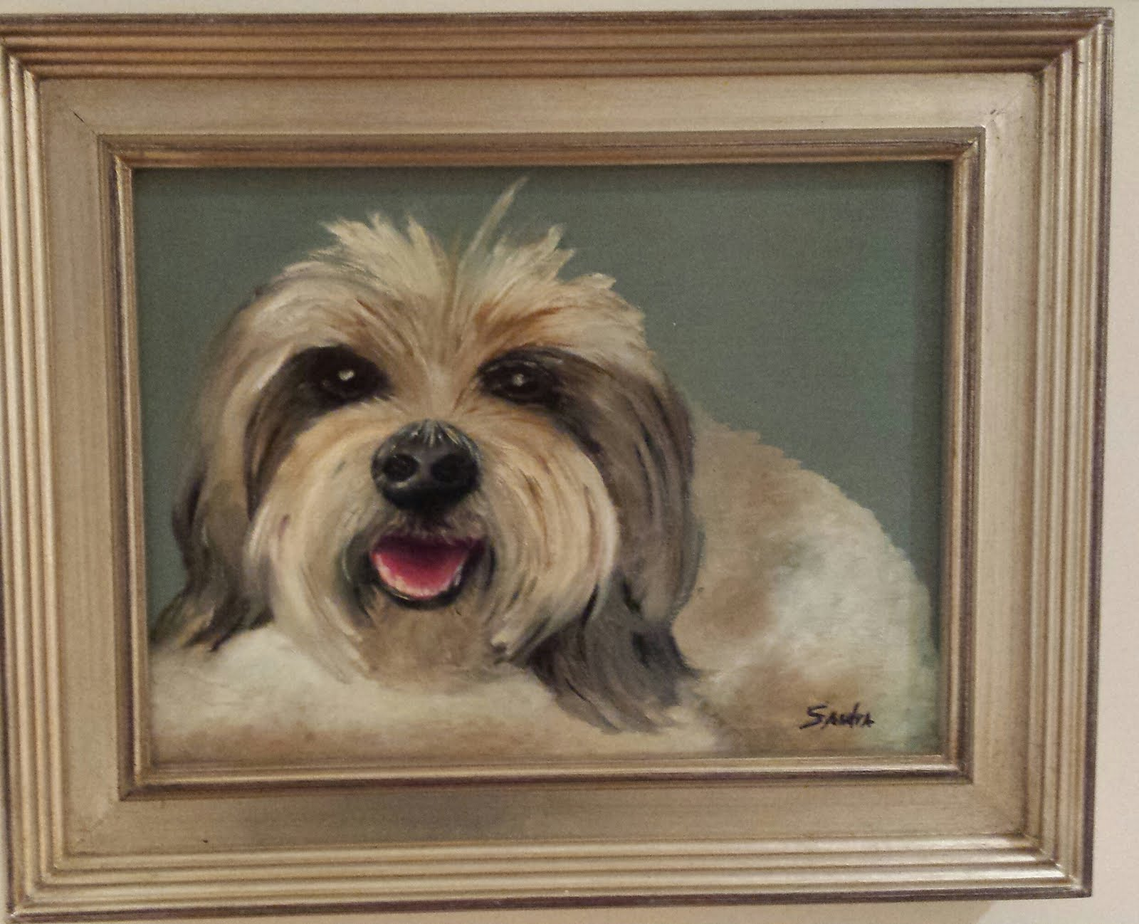 Buddy in Oils