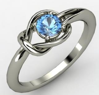 Hercules Knot ring