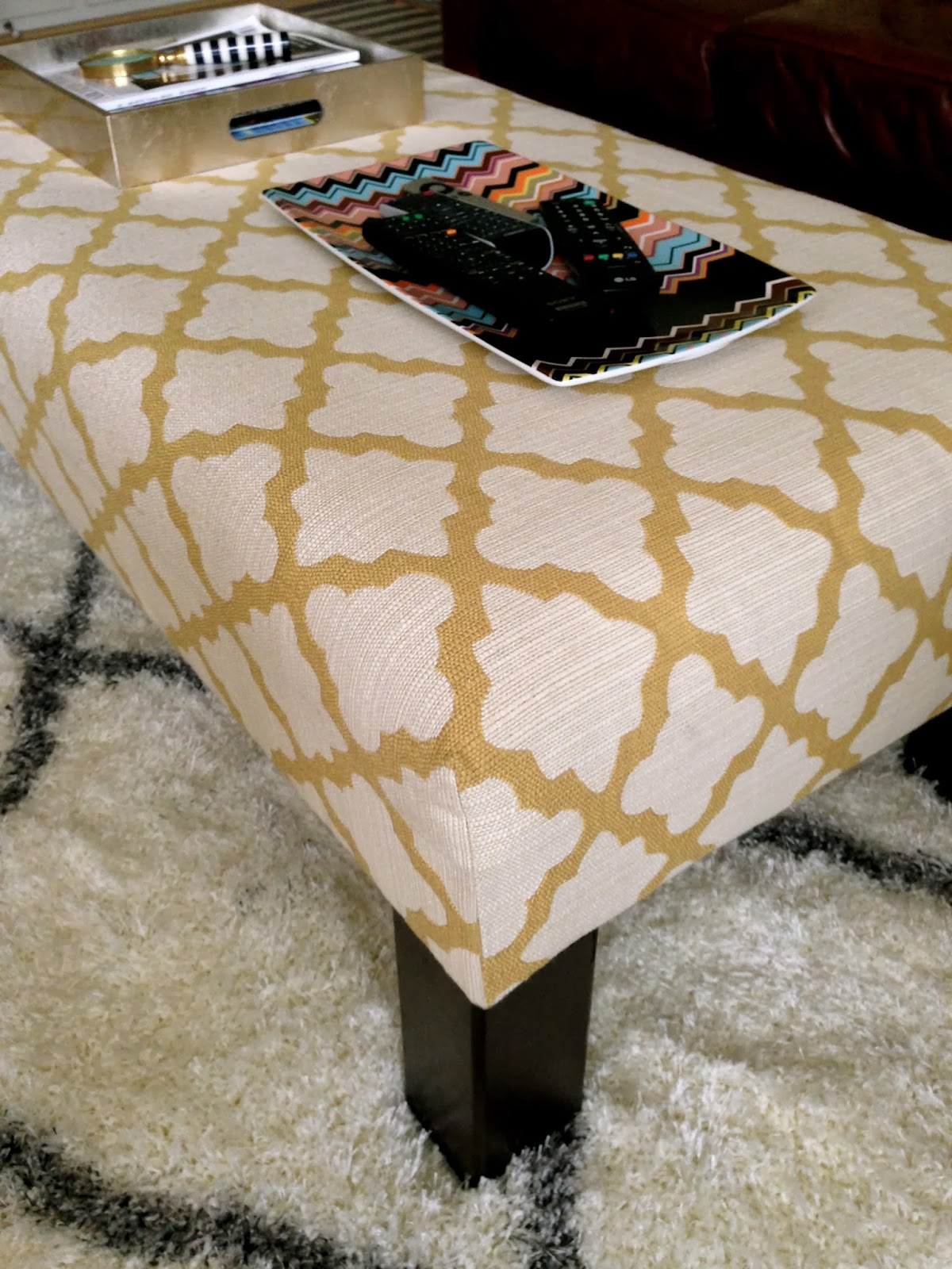 Paxton The Blog Diy Upholstered Ottoman