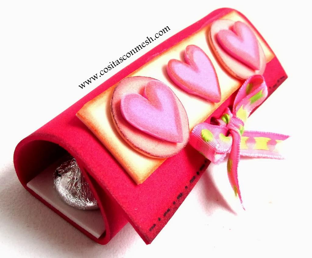 Manualidades f ciles para d a de los enamorados cositasconmesh - Manualidades para hacer en san valentin ...