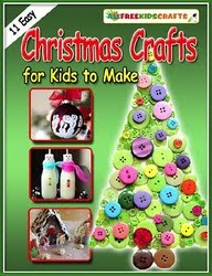 11 Easy Christmas Crafts for Kids to Make Free eBook