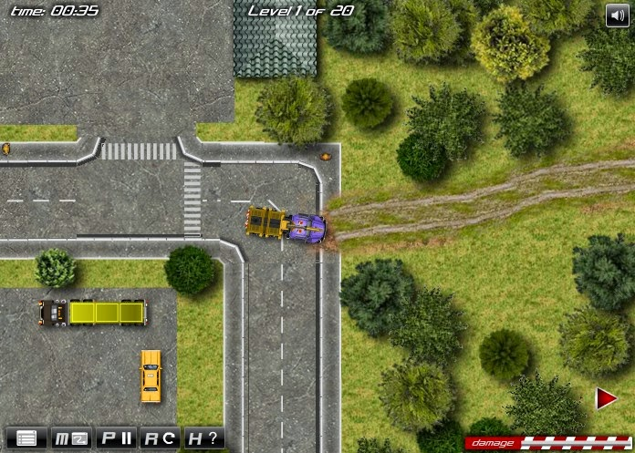 http://www.buzzedgames.com/timber-lorry-driver-game.html