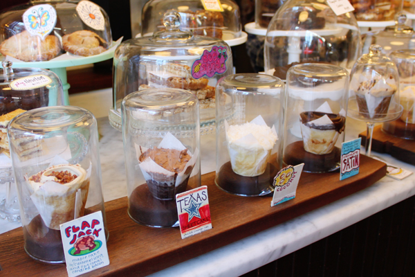Amazing dessert counter at Baked & Wired in Georgetown, D.C.