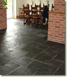 Photos Black Slate Floor Tiles | Home Design and Decor Reviews