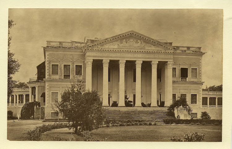 British Residency in Hyderabad - c1880's
