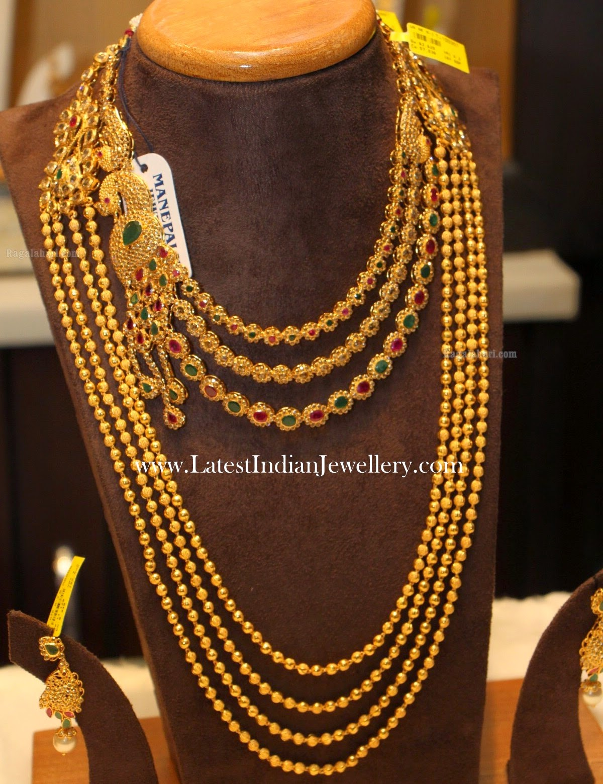 Uncut Diamond Necklace Chandra Haram