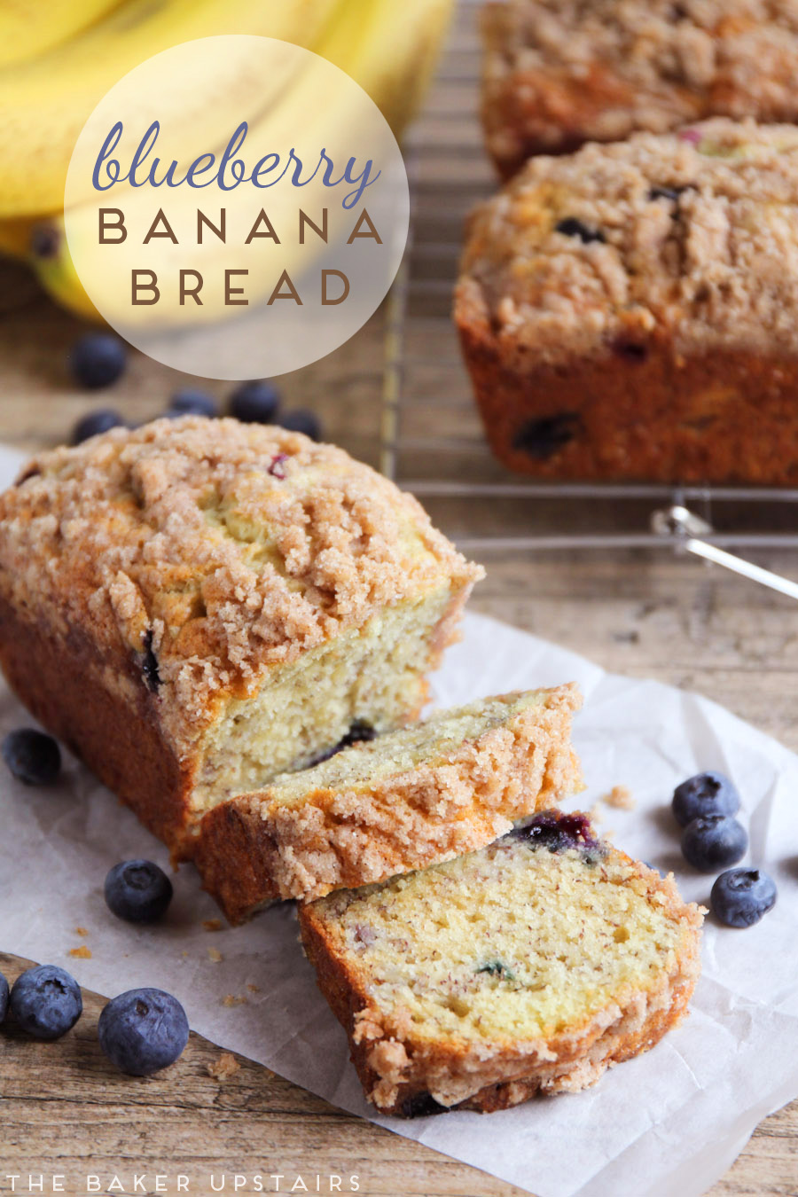 The baker upstairs blueberry banana bread a couple of months ago i shared the best banana bread recipe on the blog and i have to say im obsessed ive made it at least three or four times since forumfinder Choice Image