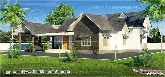 Kerala bungalow