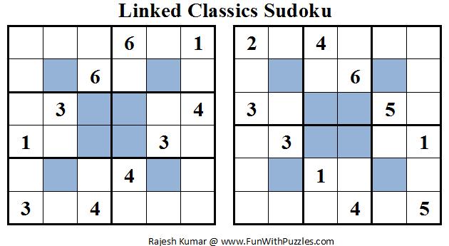 Linked Classics Sudoku (Mini Sudoku Series #16)