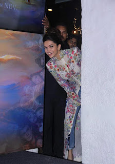 Deepika Padukone at 'Wat Wat' Song her upcoming movie 'Tamasha'