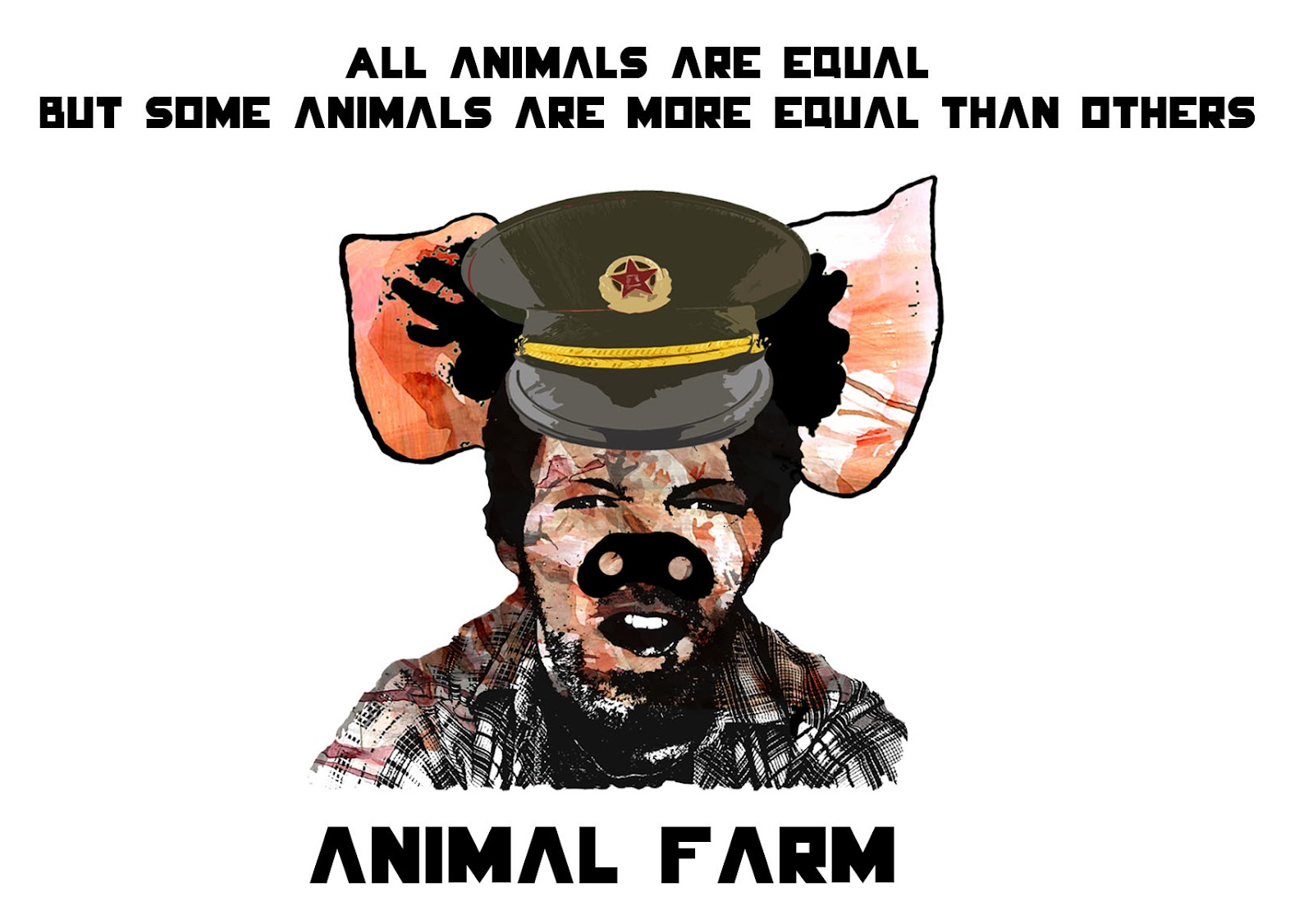 animal farm propaganda thesis Squealer's use of propaganda in animal farm propaganda is a word that is often thrown around by individuals -- especially today we often hear about people using propaganda when it comes to elections and candidates oftentimes, candidates will use propaganda in order to hurt the other candidate, never help the other candidate it's no wonder.