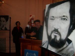 Cierre con exposición de retratos de Alvaro Venegas Catalan