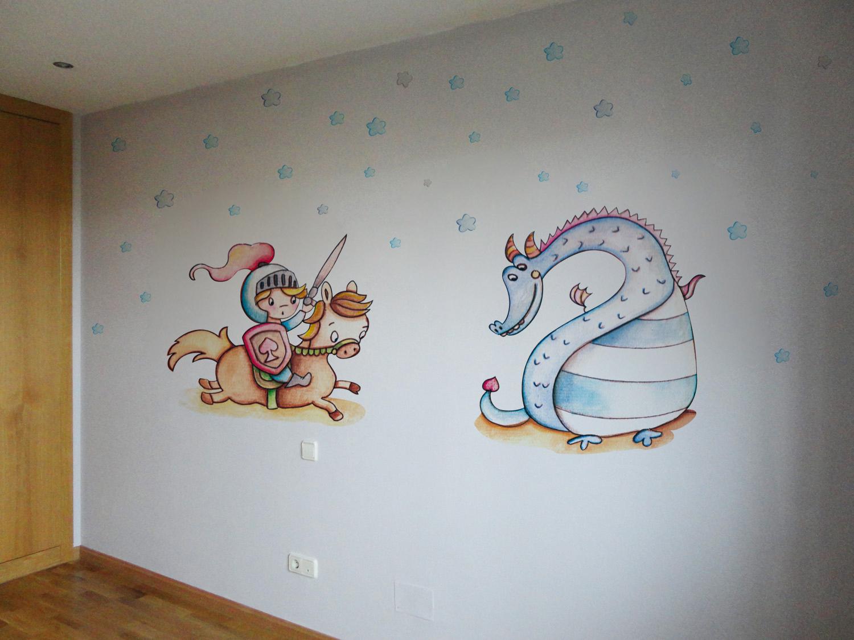 Decopared enero 2016 - Paisajes infantiles para decorar paredes ...