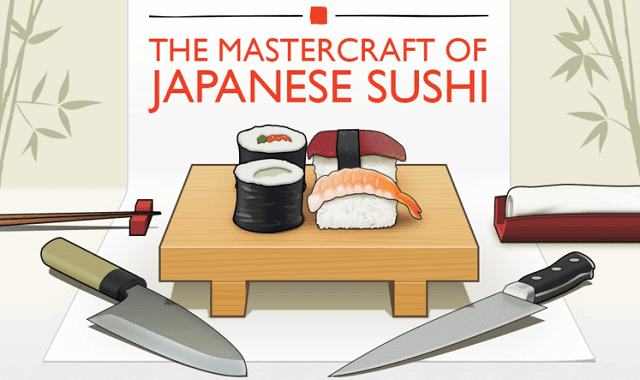 The Mastercraft of Japanese Sushi