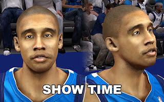 NBA 2K13 Dahntay Jones Cyberface Patch