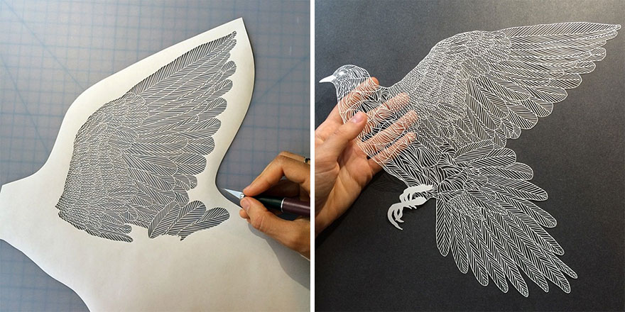 This Paper Art Will Take Your Breath Away.