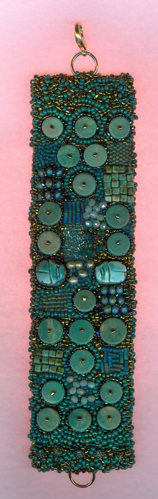 Turquoise braclette