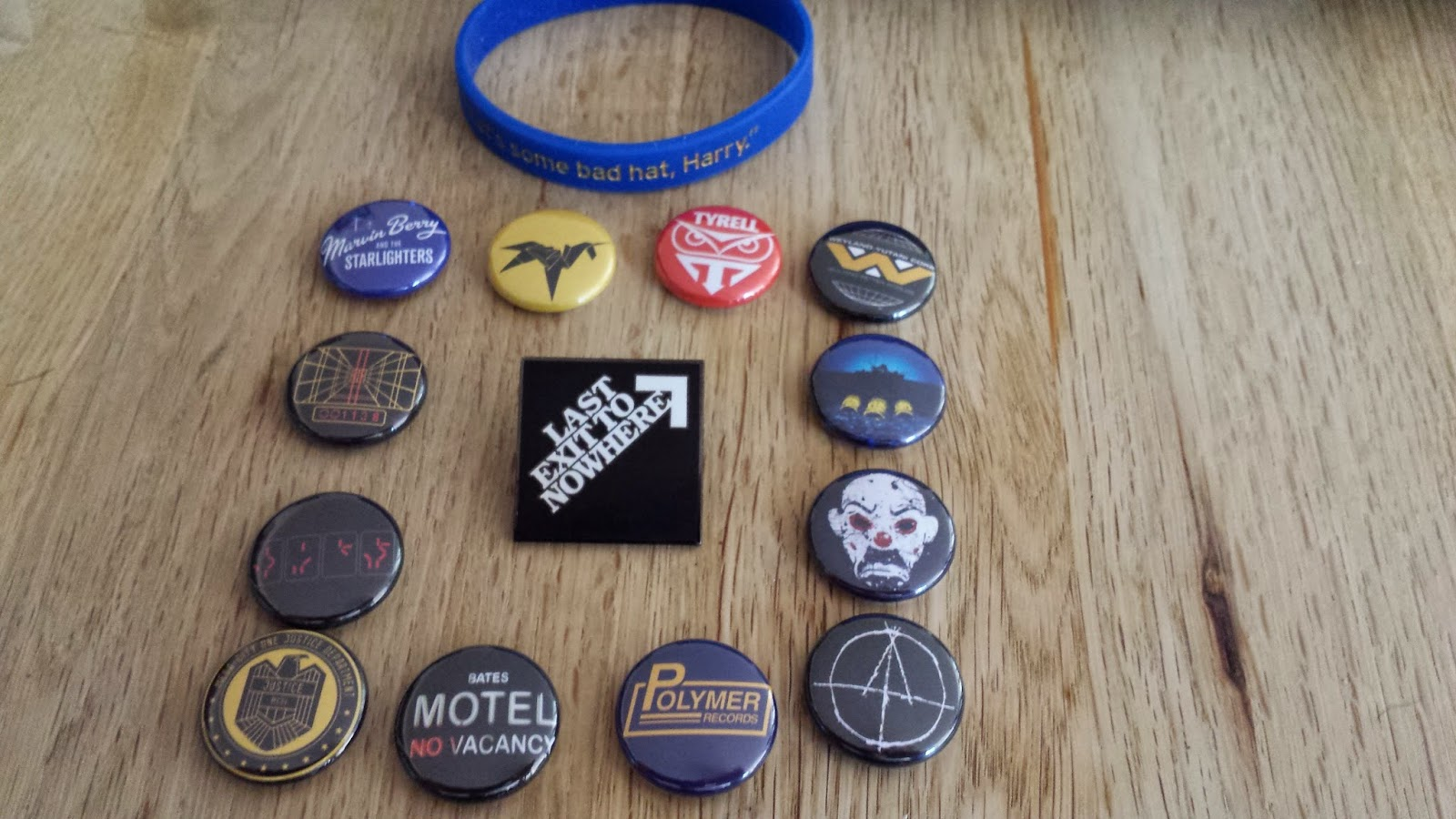 last exit to nowhere badges