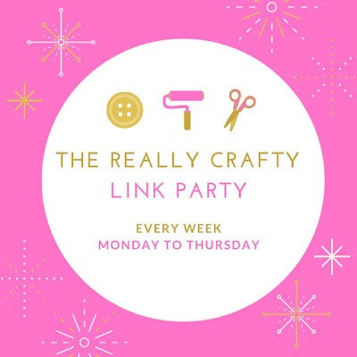 the really crafty link party, keeping it real
