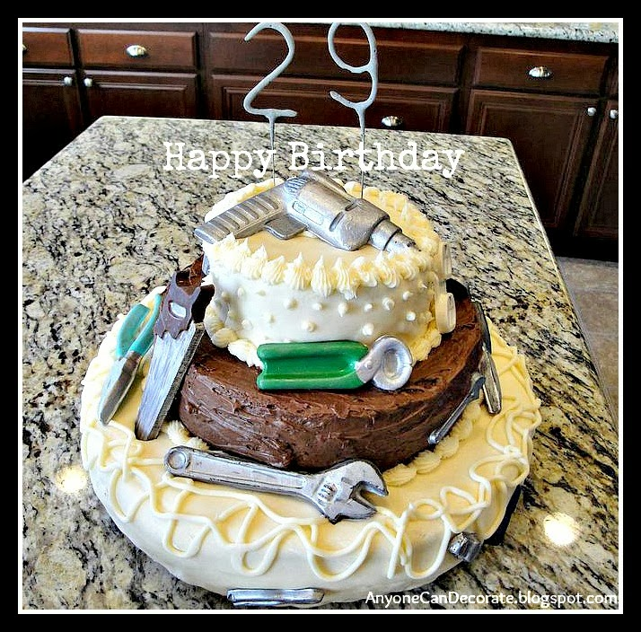 Anyone Can Decorate DIY Birthday Cake Tools in the Toolbox
