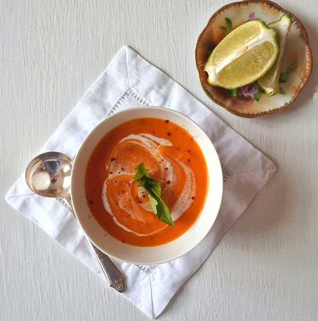 Sew French: Thai Sweet Potato Bisque with Coconut Milk