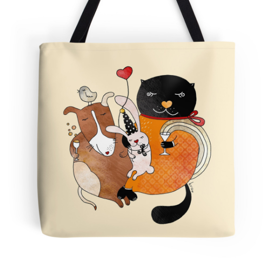 CUTE PRODUCTS WITH MY ILLUSTRATIONS