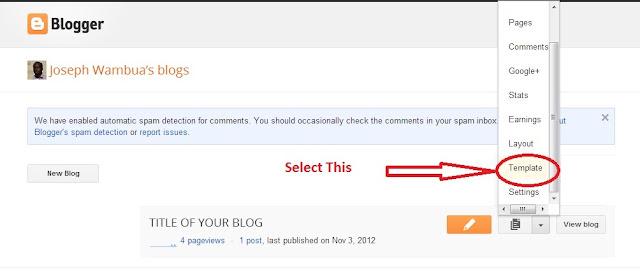 blogger template  border=