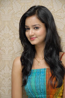 Shanvi in Gorgeous Colorful Dress Lovely Hairstyle Stunning Beauty
