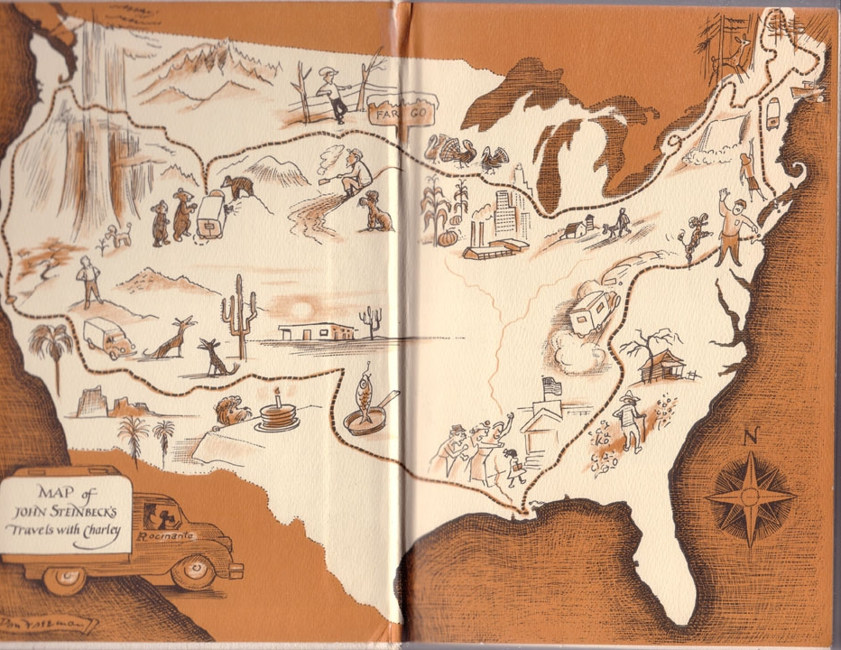 Travels with Charley: In Search of America by John Steinbeck - Book Report/Review Example