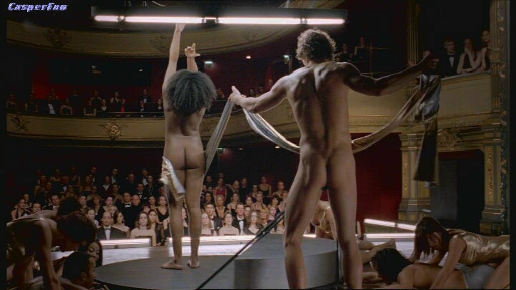 Male Nude On Stage Performance