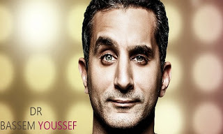 الحلقة 13 من برنامج باسم يوسف على cbc الجمعة 15/2/2013