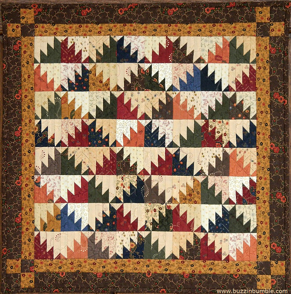Buzzinbumble Delectable Mountains Mini Blogger S Quilt